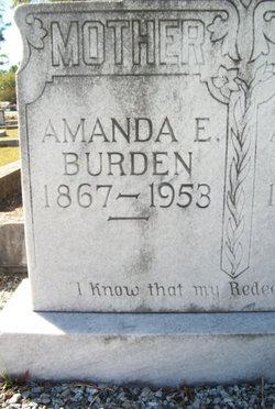 Amanda Elizabeth <i>Reynolds</i> Burden