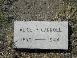 Alice May Carroll