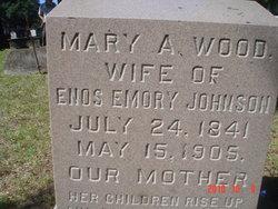 Mary Ann <i>Wood</i> Johnson