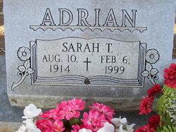 Sarah T. <i>Hamer</i> Adrian