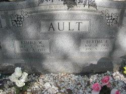 Ethro W Ault