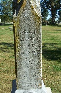 Margaret J Alexander