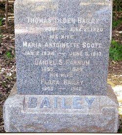 Maria Antoinette <i>Scott</i> Bailey