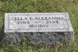 Zella E. <i>McCord</i> Alexander
