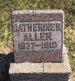 Catherine Rebecca <i>Wade</i> Allen