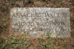 Anna Christian <i>Dobie</i> Johnson