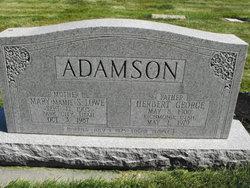 Mary Stoddard Mamie <i>Lowe</i> Adamson