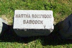 Martha <i>Rockwood</i> Babcock