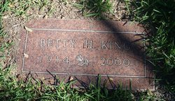 Betty H King
