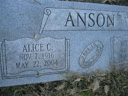 Alice C. Anson