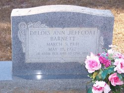 Delois Ann <i>Jeffcoat</i> Barnett