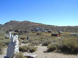 Bodie Cemetery - Miners Union Section