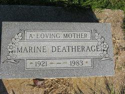 Marine <i>Baker</i> Deatherage