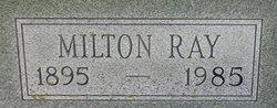 Milton Ray Peterson