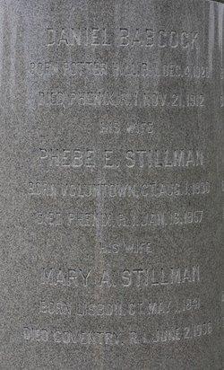 Phebe <i>Stillman</i> Babcock