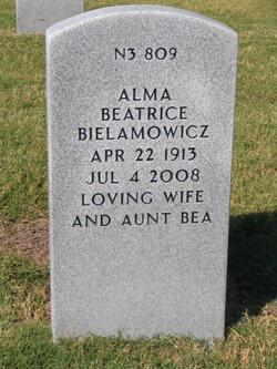 Alma Beatrice Aunt Bea <i>Williams</i> Bielamowicz