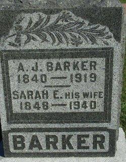Sarah Elizabeth <i>Norvell</i> Barker