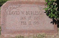 David Warfield Burleson, Sr