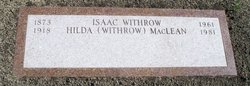 Isaac J. Ike Withrow