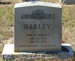 Ann Ophelia <i>Reed</i> Harley