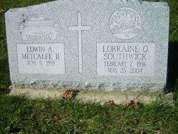 Lorraine O. <i>Baxter</i> Southwick
