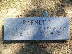 Mrs Otis Dean <i>Irby</i> Barnett