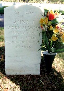Anna E Zakrzewski