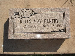 Relia May Gentry