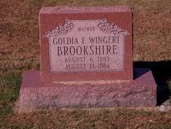 Goldia F. <i>Wingert</i> Brookshire