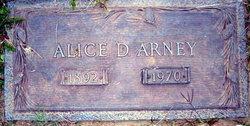 Alice D Arney