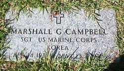 Marshall G Campbell