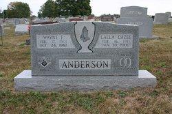 Lalla <i>Cazee</i> Anderson