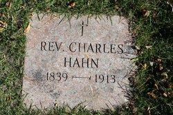 Rev Charles Hahn