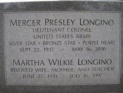 Martha <i>Wilkie</i> Longino