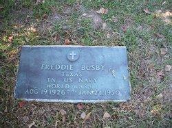 Freddie Busby