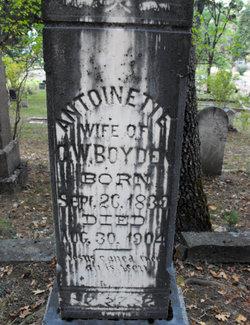 Marie Antoinette Nettie <i>Price</i> Boyden