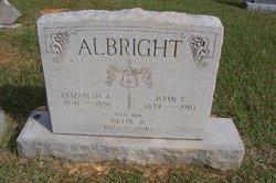 Nettie A Albright