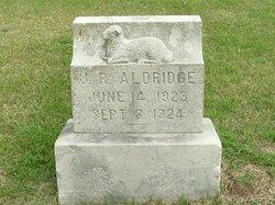 Joseph Robert J R Aldridge