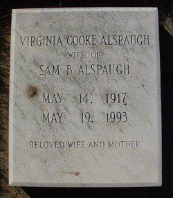 Virginia <i>Cooke</i> Alspaugh