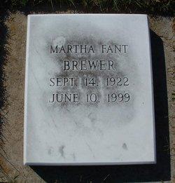 Martha L <i>Fant</i> Brewer