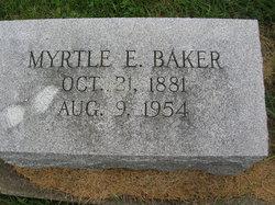 Myrtle Estelle <i>Simpson</i> Baker