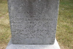 Anna M <i>Hutchings</i> Holcomb