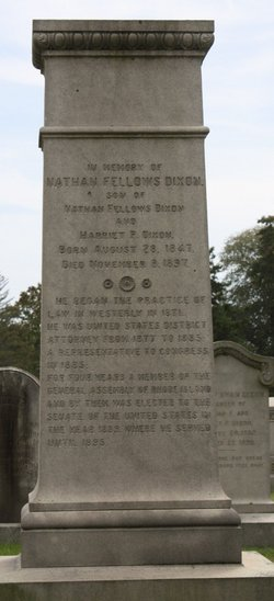 Nathan Fellows Dixon, III
