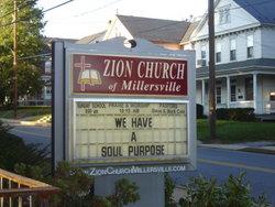 Zion Church of Millersville Cemetery