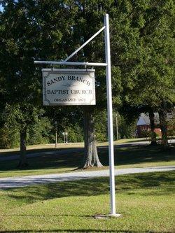 Sandy Branch Baptist Church Cemetery