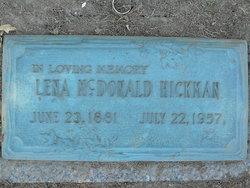 Lena McDonald Hickman