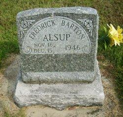 Fredrick Barton Alsup
