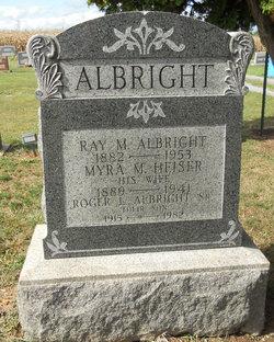Myra M <i>Heiser</i> Albright