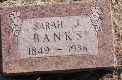Sarah Josephine Finnie <i>McMillan</i> Banks