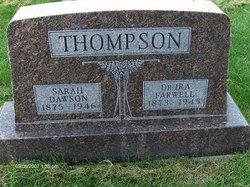 Sarah <i>Dawson</i> Thompson